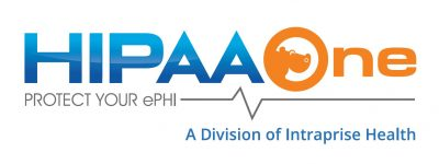 HIPAA One Logo Division of Intraprise Health
